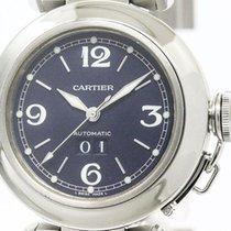 Cartier Pasha C Big Date Steel Automatic Unisex Watch W31047m7...
