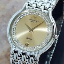 Raymond Weil Fidelio Swiss Made White Gold Plated Luxury...
