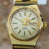 Orient Gold Plated Automatic Luxury Dress Watch C1970  Nr49