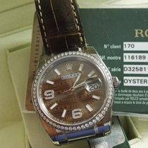 롤렉스 (Rolex) Bronze Datejust Ladies 36mm White Gold newoldstock
