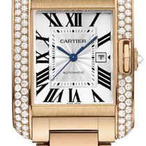 Cartier Tank Anglaise MEDIUM 18kt Rose Gold AUTHENTIC wt100003