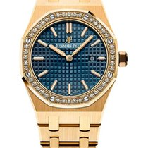 Audemars Piguet Royal Oak Quartz 18K Yellow Gold Ladies Watch