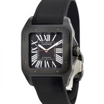 Cartier Santos 100 Carbon Automatic WSSA0006 Large Model WATCH