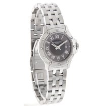 Raymond Weil Tango Ladies Charcoal Dial Quartz Watch 5399-ST-0...