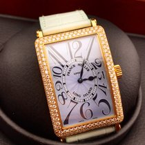Franck Muller LONG ISLAND 1000 SC D YELLOW GOL & DIAMONDS