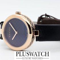 Gucci Diamantissima Black Dial 32mm YA141401 T