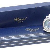 Chopard Happy Sport Diamond Floating Moon & Stars Blue Dial