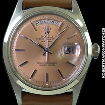 Rolex 1802 Platinum Day Date Salmon Dial