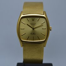 Rolex Cellini 18K Yellow Gold 3805 Leather or Gold Strap