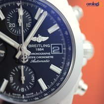 Breitling Chronomat 38 SleekT Steel on Steel Pilot Bracelet...