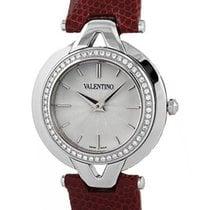 Valentino Steel & Diamond Casual V-Valentino Womens Strap...