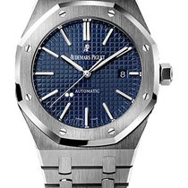 Audemars Piguet Royal Oak Stainless Steel Blue Dial 15400ST.OO...