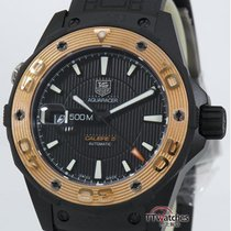 TAG Heuer Aquaracer Calibre 5 500m Automatic Waj2182  63 % Off...