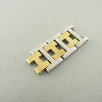 Hermès Clipper Glieder Armbandglied Stahl/gold Bracelet Links...