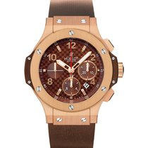 Hublot Big Bang 44mm Cappuccino Automatic Chronoscaph with...