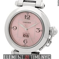 Cartier Pasha Collection Pasha C Large Date Stainless Steel...
