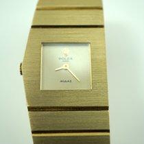 Rolex 4313 Queen Midas 18k gold ladies dates 1974