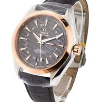 Omega Seamaster Aqua Terra 150M GMT in Steel and Rose Gold