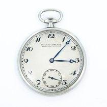 Patek Philippe Thin 44mm Platinum Pocket Watch