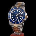 Rolex submariner steel and gold blue ceramic
