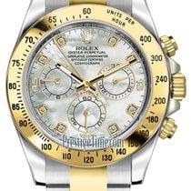 勞力士 (Rolex) Cosmograph Daytona Steel and Gold 116523 White MOP...