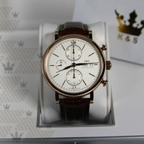 IWC IW391020   Portofino Chronograph Rose Gold White Dial