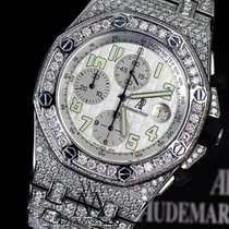 Audemars Piguet Ap Royal Oak Offshore 44mm Custom Diamonds...