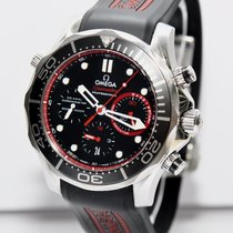 Omega Limited Edition SEAMASTER Diver  CoAXIAL Papiere 2014