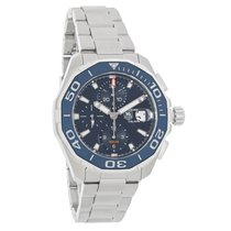TAG Heuer Aquaracer Mens Chronograph Automatic Watch CAY211B.B...