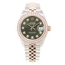 勞力士 (Rolex) Lady Datejust 18k Rose Magic Diamond Green...