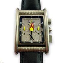 Alain Silberstein Bolido Titanium Men's Watch