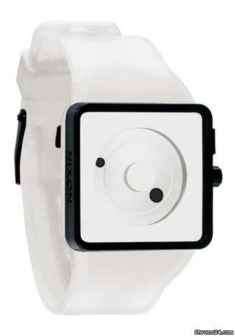 Nixon The Newton White Herrenuhr|The Newton White reloj para hombre