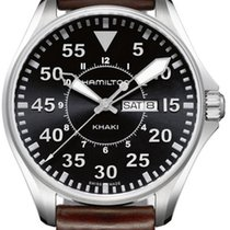Hamilton Khaki Aviation H64611535 Elegante Herrenuhr Sehr gut...
