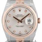 Rolex Datejust 18ct Rose Gold & Steel 116201