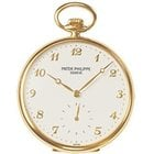 Patek Philippe Lepine Pocket Watch Mens 44mm Manual in Yellow...