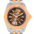 Breitling Galactic 32 Ladies Steel Gold Watch C71356l2/q581-367c