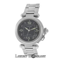 Cartier Mint Midsize  Pasha 2324 Stainless Steel Date Automati...