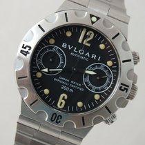 Bulgari Scuba Scb38s Steel Chronograph