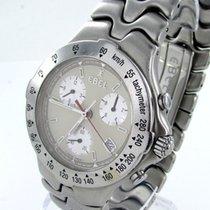 Ebel Sportwave Chronograph Stahl Herrenuhr Ref E9251641