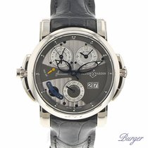 Ulysse Nardin Sonata Cathedral Dual-Time White Gold