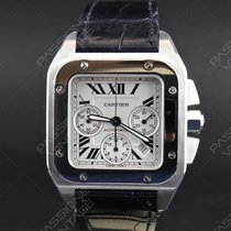 Cartier Santos 100 XL Chronograph full set