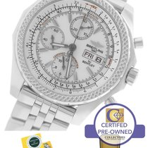 Breitling Bentley GT Day-Date Chronograph White Stainless...