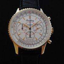 Breitling Montbrillant 18k Pink Gold Chronograph