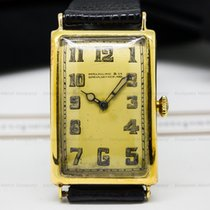 Patek Philippe Vintage Gondolo Tarnished 18K Yellow Circa 1924...