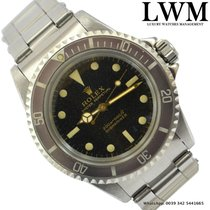 Rolex Submariner 5513 meter / feet gilt glossy dial 1966's