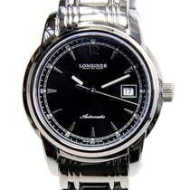 Longines Saint Imier Stainless Steel Black Automatic L2.563.4....