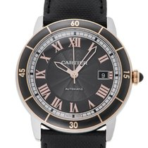 Cartier W2RN0005 Ronde Croisiere Gray Dial Automatic Men's...