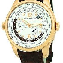 "Girard Perregaux ""World Timer"" Strapwatch."