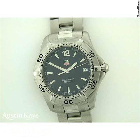 TAG Heuer Aquaracer steel quartz on bracelet