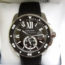 Cartier Calibre de Cartier Diver Steel Black Dial ADLC [NEW]